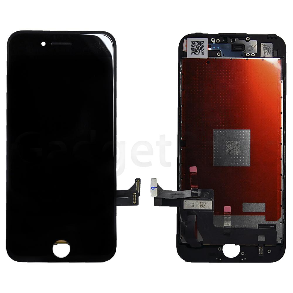 Модуль (дисплей, тачскрин, рамка) iPhone 7 Черный (Black) HQ