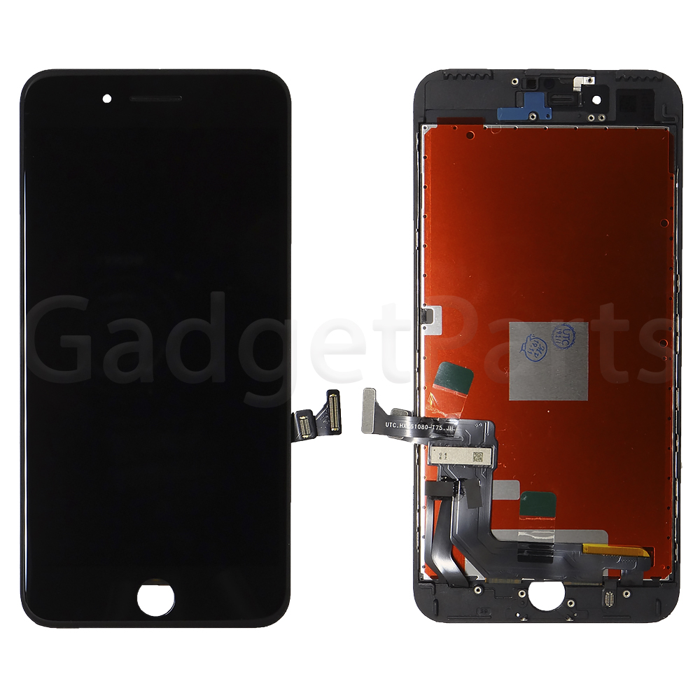 Модуль (дисплей, тачскрин, рамка) iPhone 7 Plus Черный (Black)