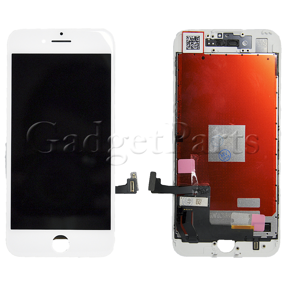 Модуль (дисплей, тачскрин, рамка) iPhone 7 Белый (White) HQ