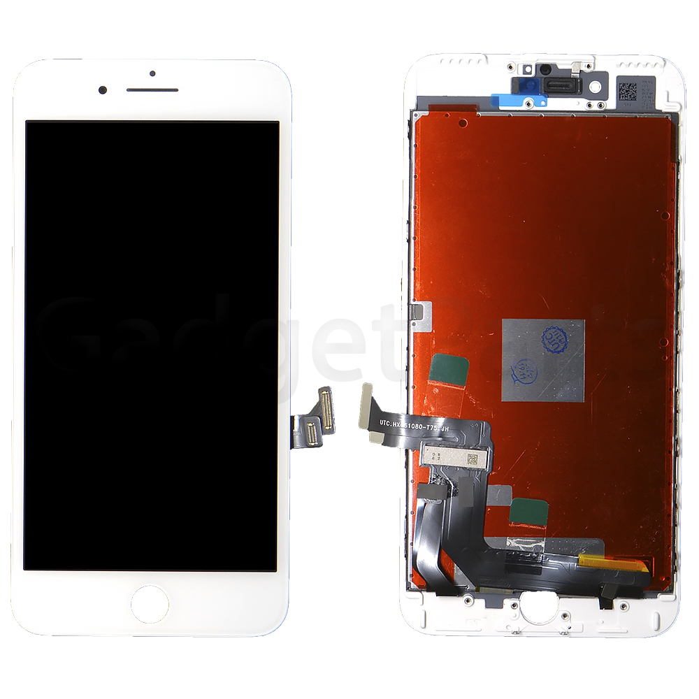 Модуль (дисплей, тачскрин, рамка) iPhone 7 Plus Белый (White) HQ