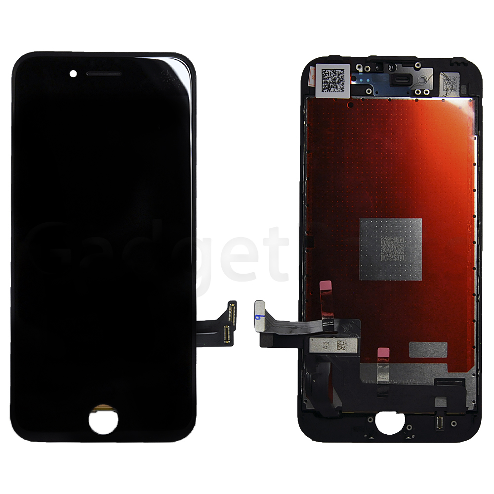 Модуль (дисплей, тачскрин, рамка) iPhone 7 Черный (Black) Оригинальная матрица