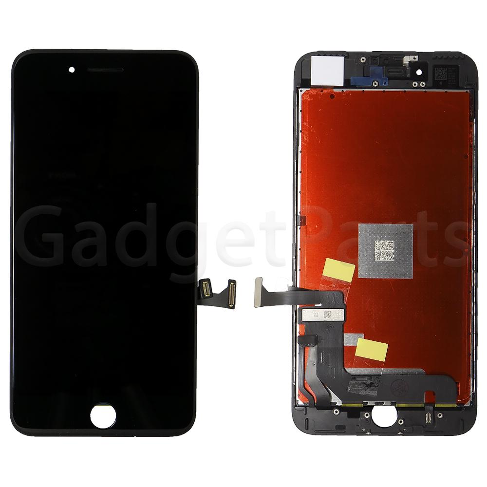 Модуль (дисплей, тачскрин, рамка) iPhone 7 Plus Черный (Black) Оригинальная матрица