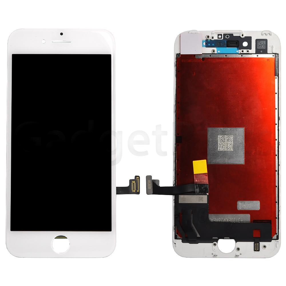 Модуль (дисплей, тачскрин, рамка) iPhone 7 Белый (White) Оригинальная матрица