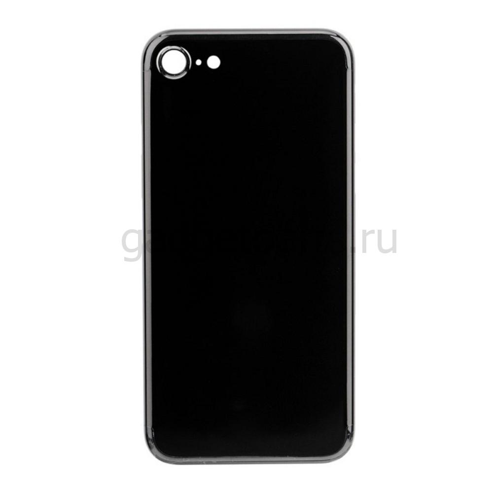 Задняя крышка iPhone 7 Черный Оникс (Jet Black) Оригинал