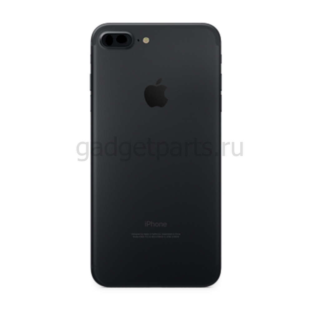 Задняя крышка iPhone 7 Plus Черная (Black)