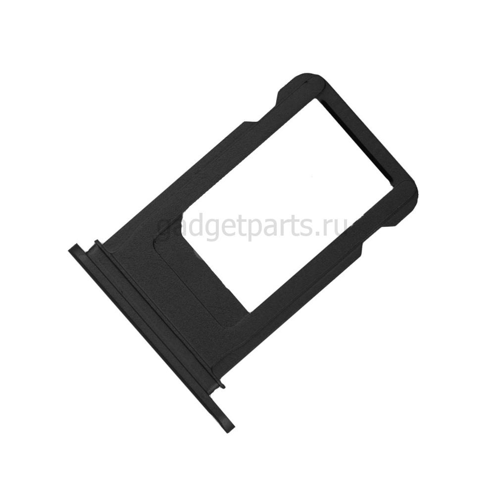 Сим-лоток iPhone 7 Черный Оникс (Jet Black)