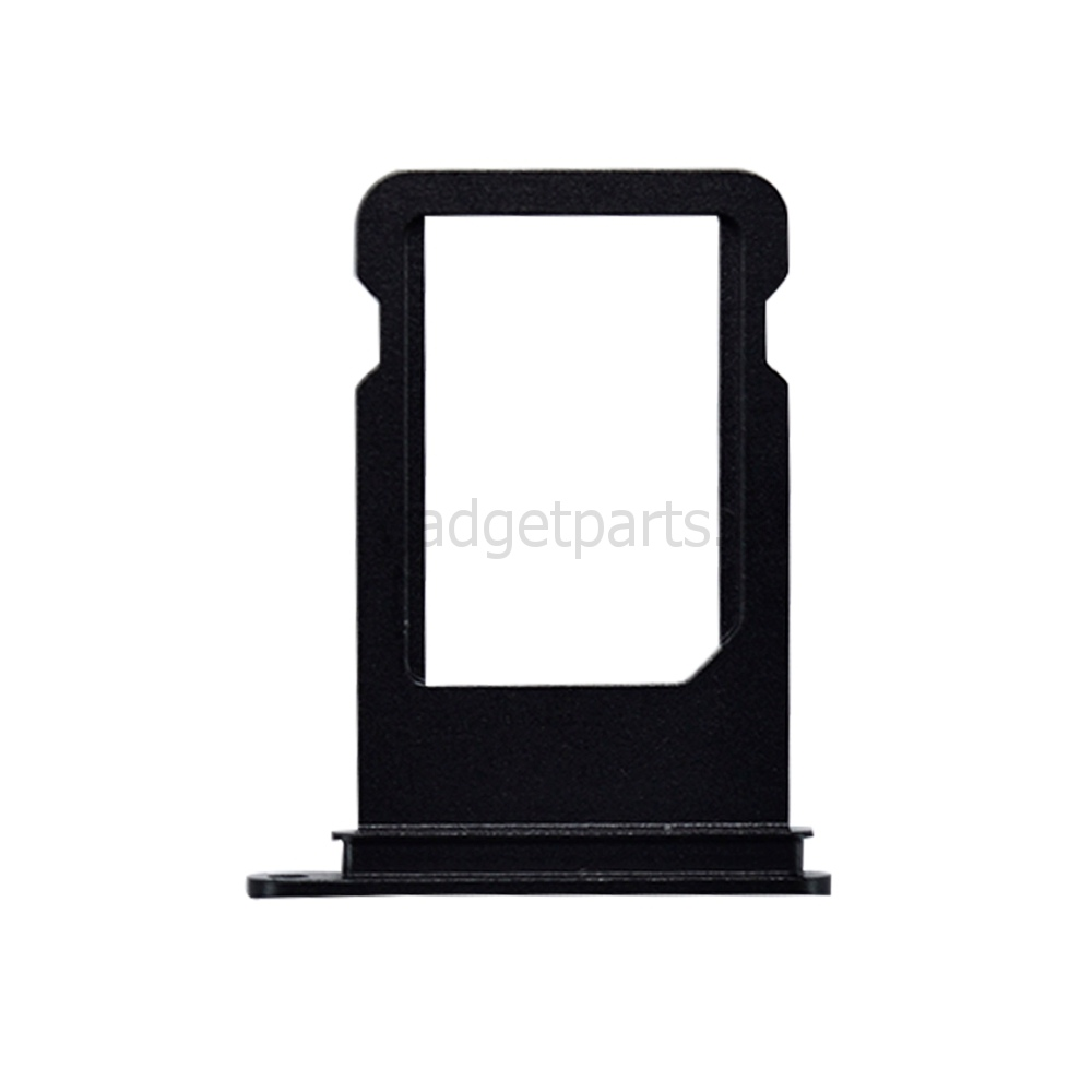 Сим-лоток iPhone 7 Plus Черный Оникс (Jet Black)