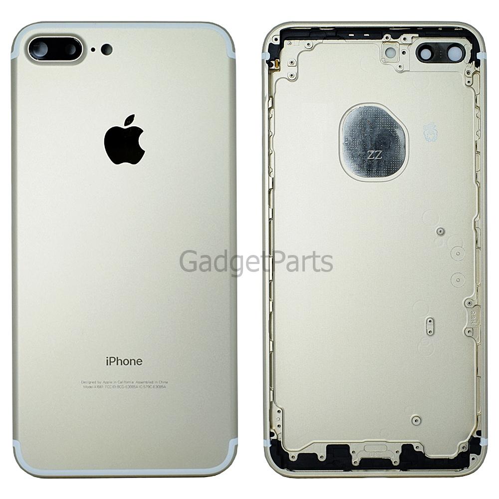 Задняя крышка iPhone 7 Plus Золотая (Gold) Оригинал