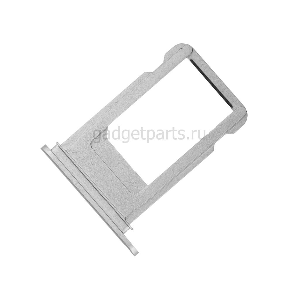 Сим-лоток iPhone 7 Серебряный, Белый (Silver, White)