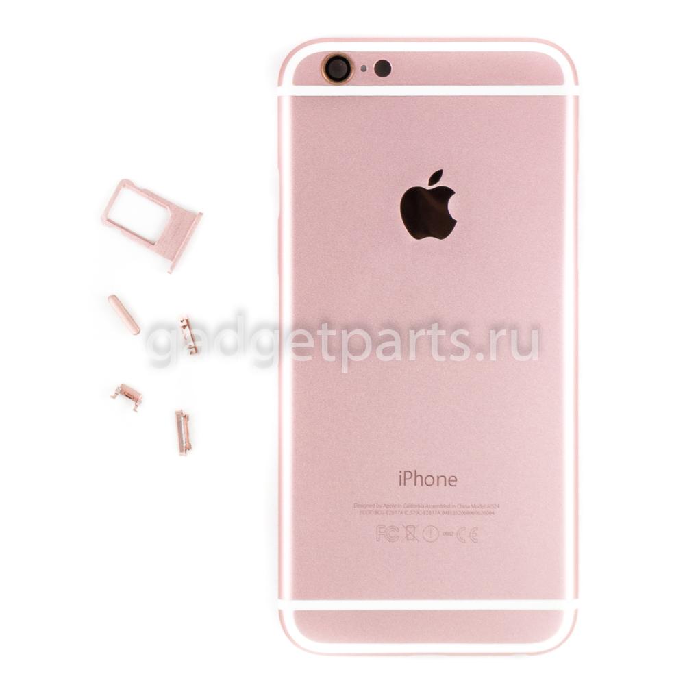 Задняя крышка iPhone 6 Розовое золото (Rose gold)