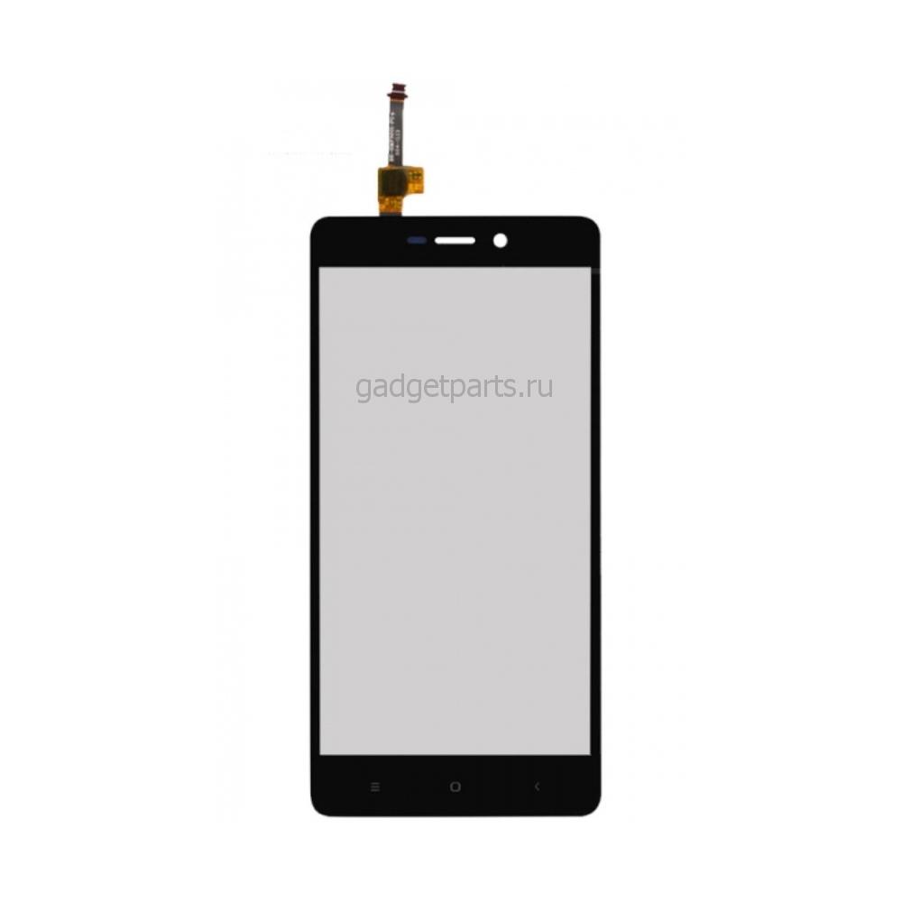 Сенсорно стекло, тачскрин Xiaomi Redmi 3 Черный (Black)