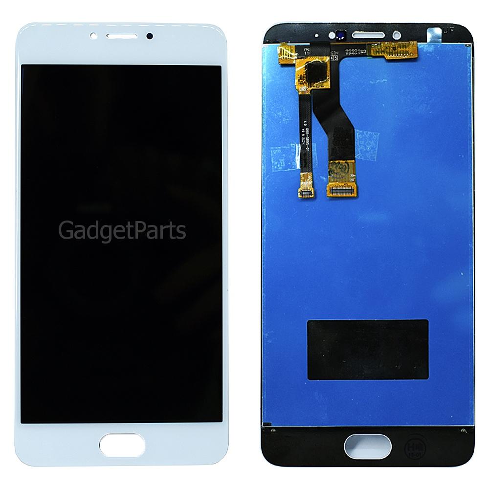 Модуль (дисплей, тачскрин) Meizu M3 Note (M681H) Белый (White)