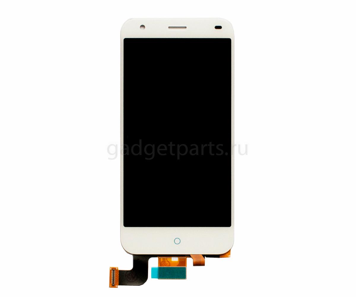 Модуль (дисплей, тачскрин) ZTE Blade S6, Q5 Белый (White)