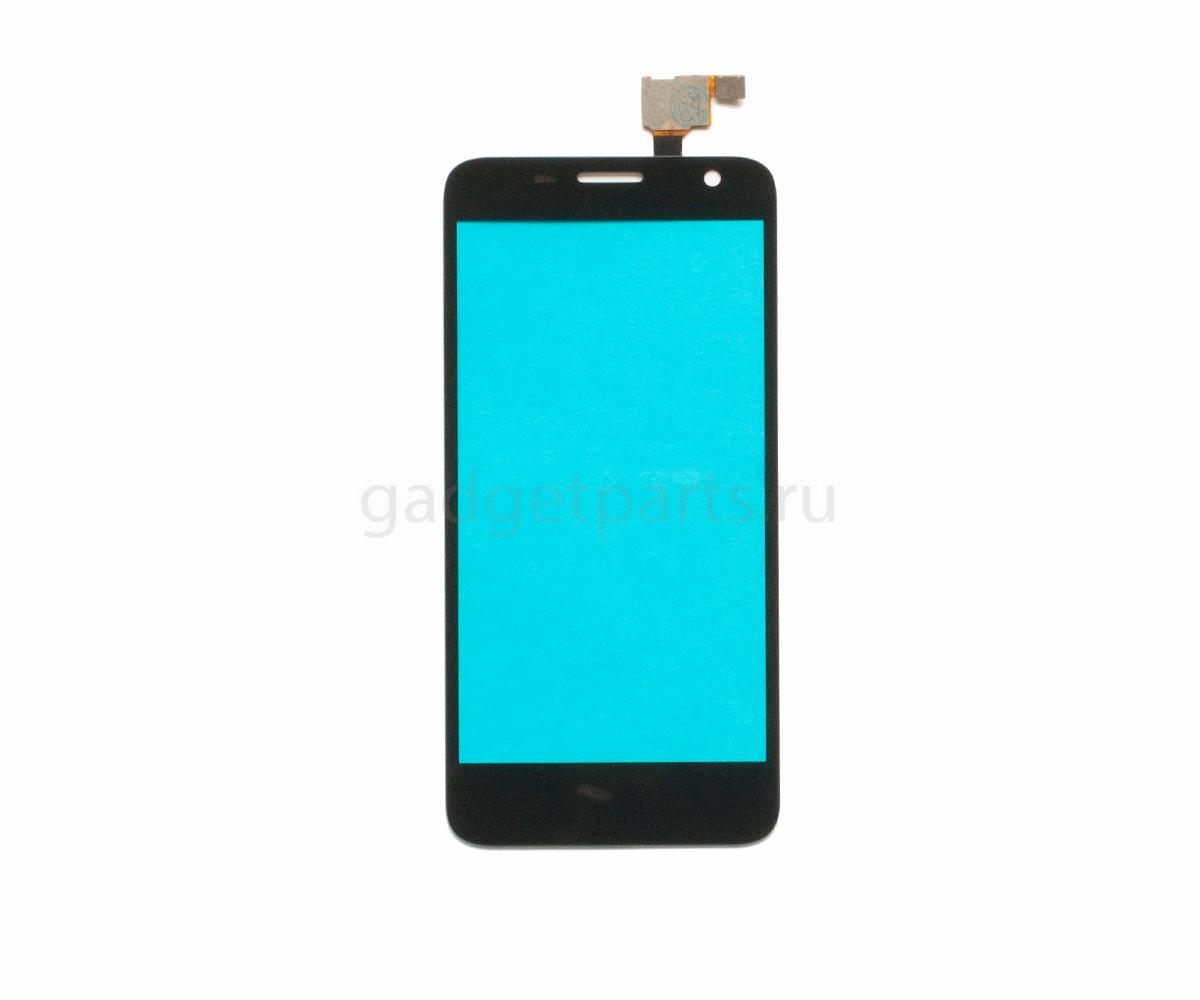 Сенсорное стекло, тачскрин Alcatel OT6012, OT6012D, OT6012X (Idol Mini) Черный (Black)