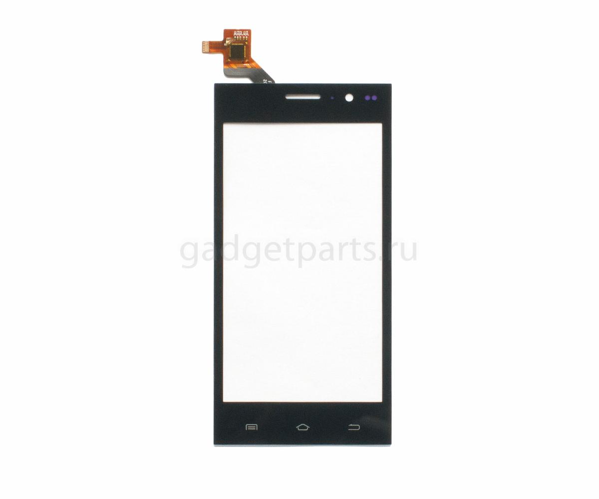 Сенсорное стекло, тачскрин Highscreen Zera S Power Черный (Black)