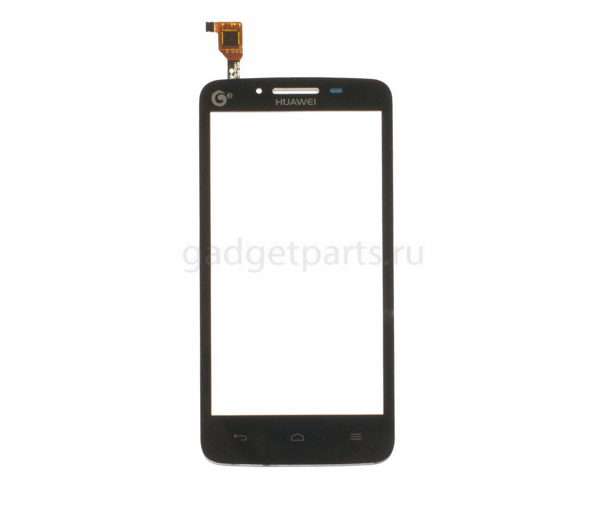 Сенсорное стекло, тачскрин Huawei Y511 Ascend Черный (Black) Оригинал