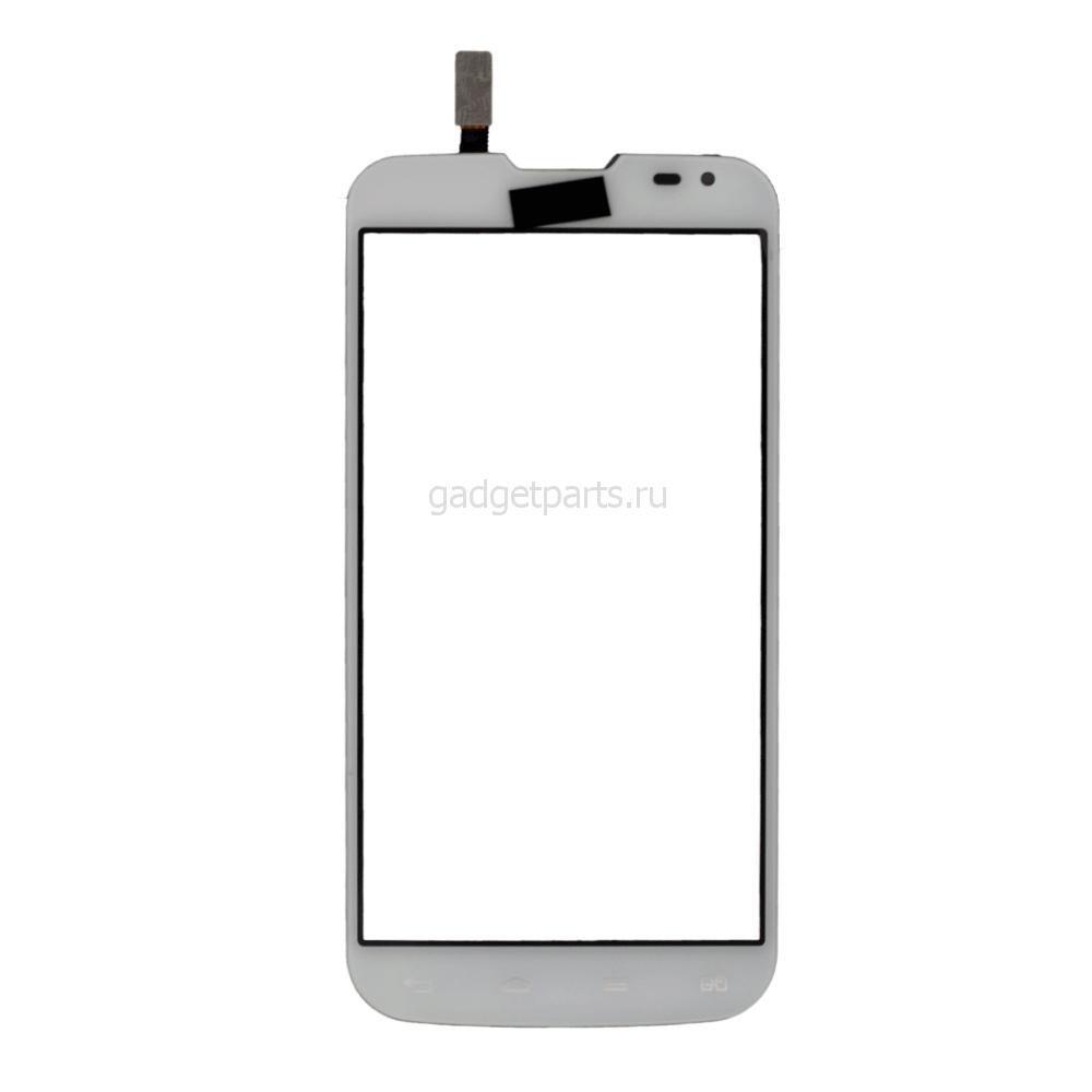 Сенсорное стекло, тачскрин LG D410, L90 Dual Sim Белый (White) Оригинал