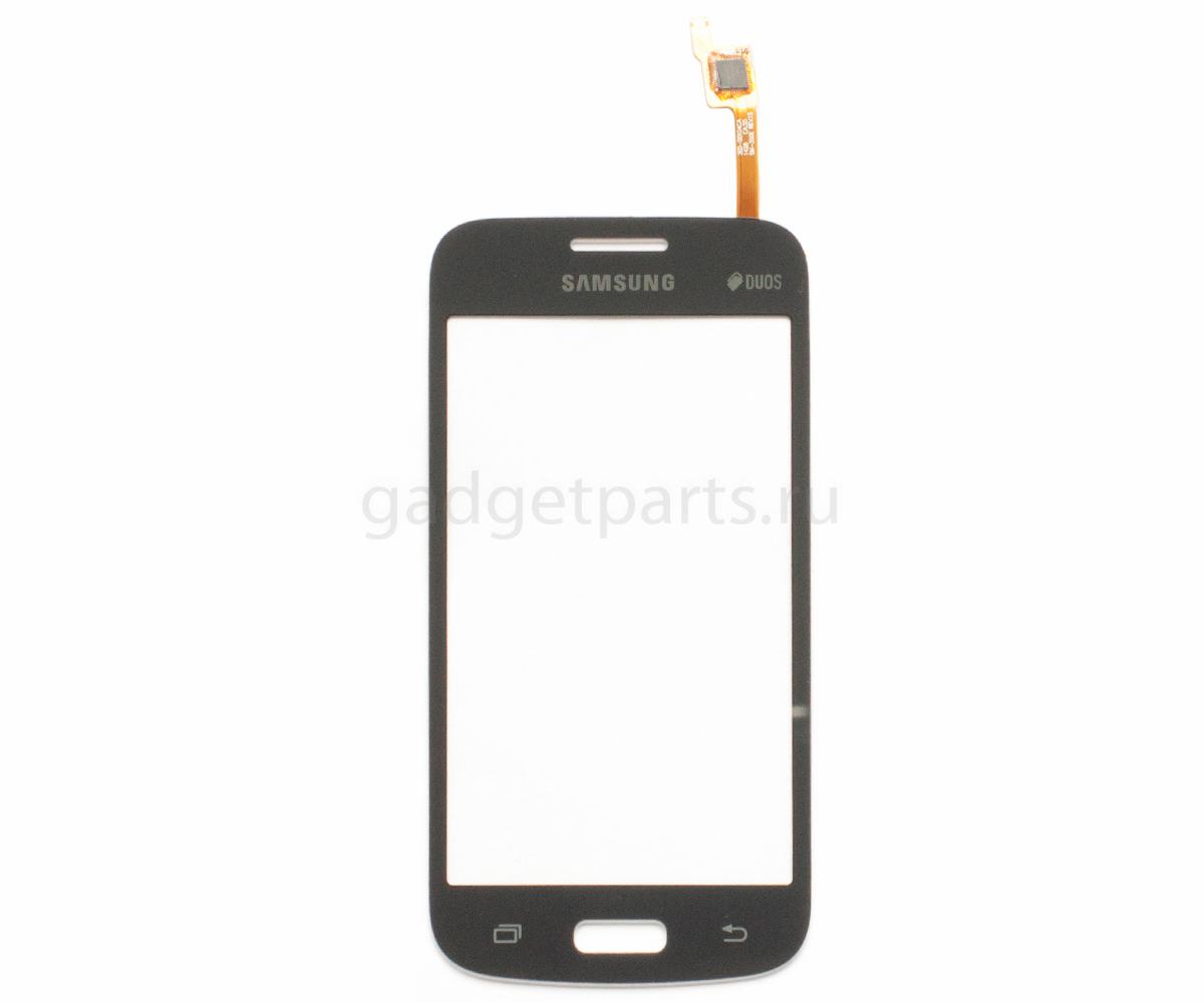 Сенсорное стекло, тачскрин Samsung Galaxy Star 2 Plus, G350E (SM-350E Rev.15) Черный (Black) Оригинал