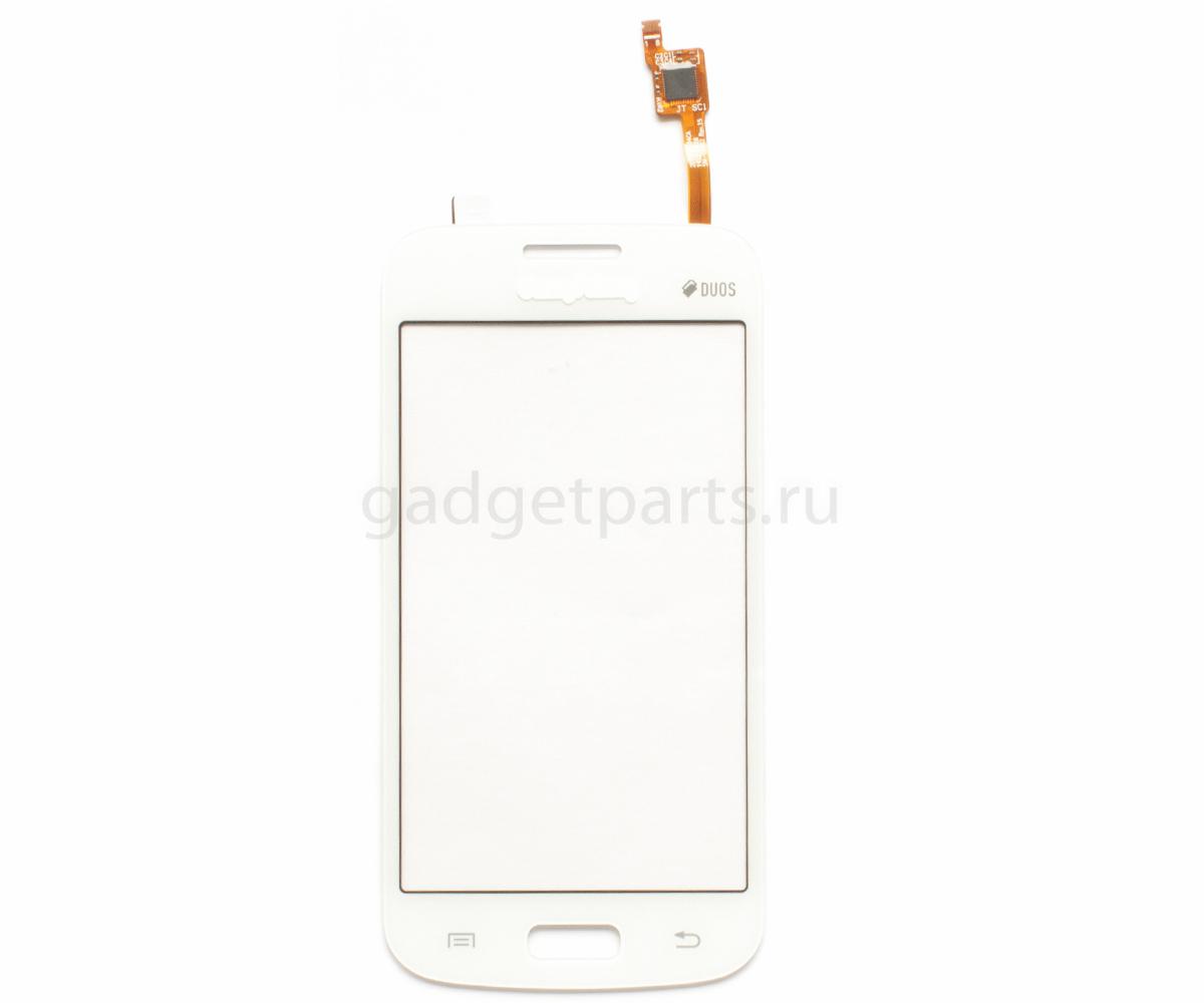 Сенсорное стекло, тачскрин Samsung Galaxy Star 2 Plus, G350E (SM-350E Rev.15) Белый (White) Оригинал