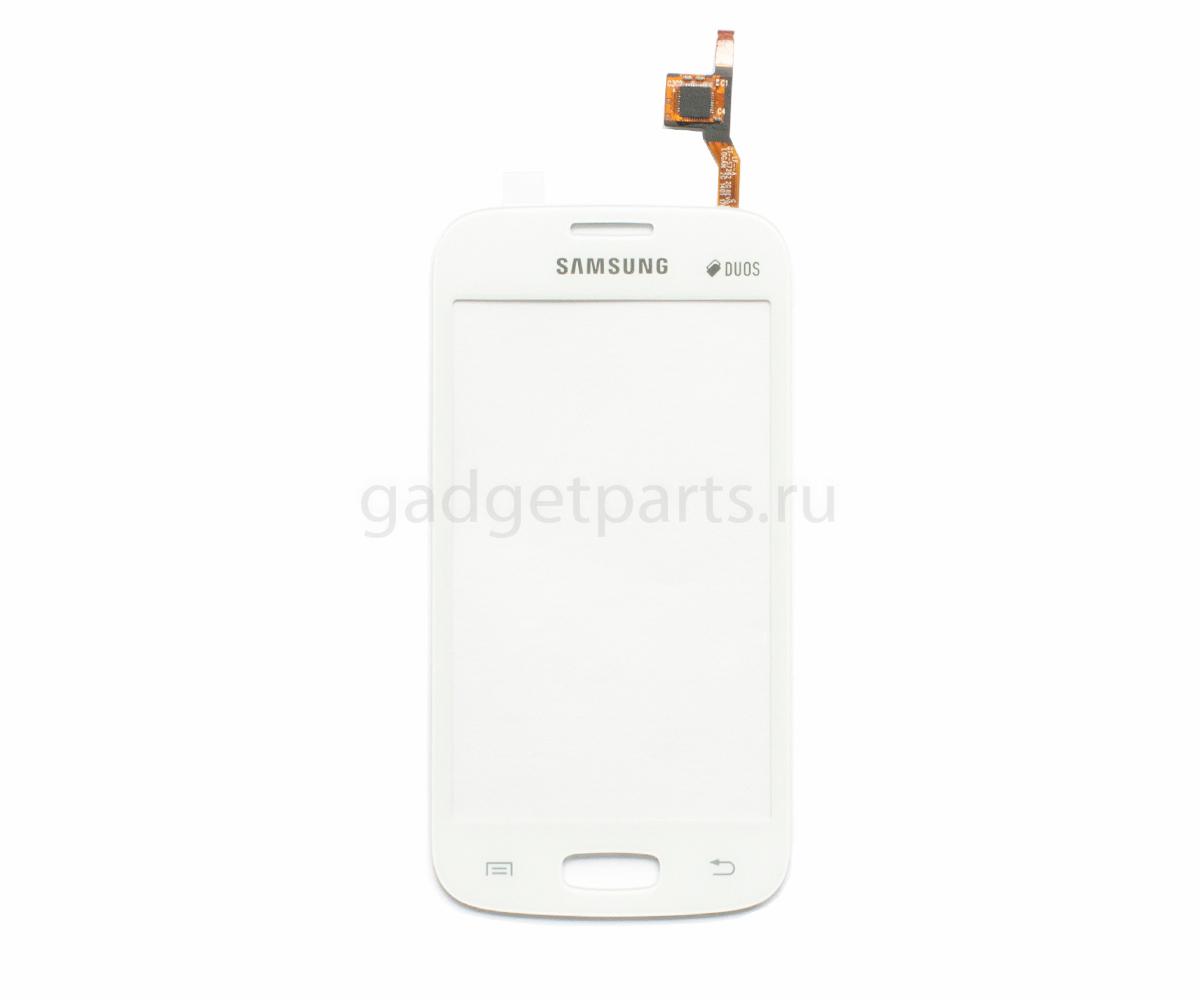 Сенсорное стекло, тачскрин Samsung Galaxy Star Plus, S7260, S7262 Белый (White) Оригинал