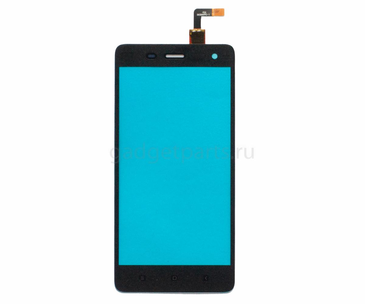Сенсорное стекло, тачскрин Xiaomi Mi 4 Черный (Black)