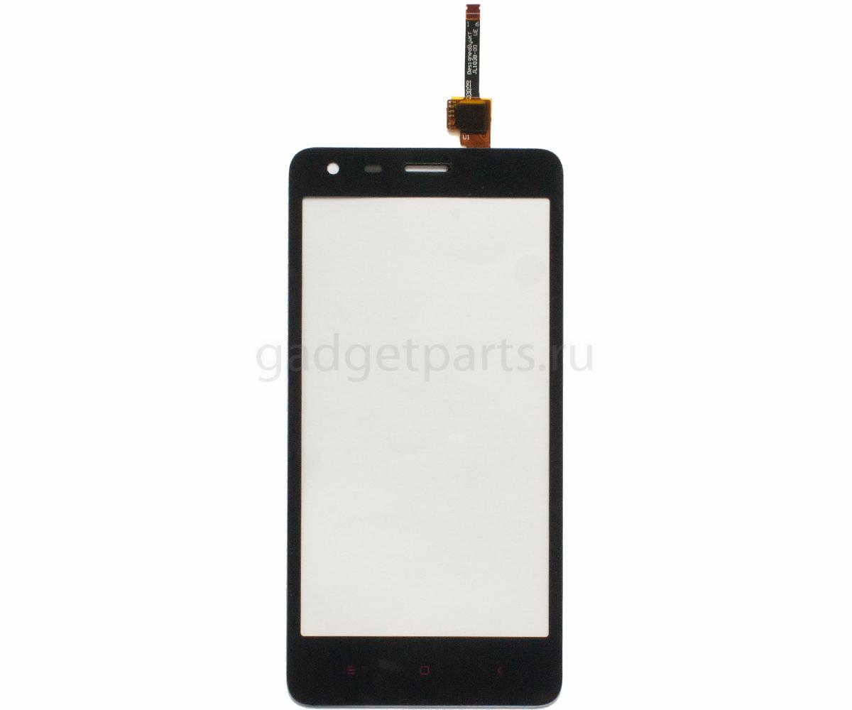 Сенсорное стекло, тачскрин Xiaomi Redmi 2 Черный (Black)