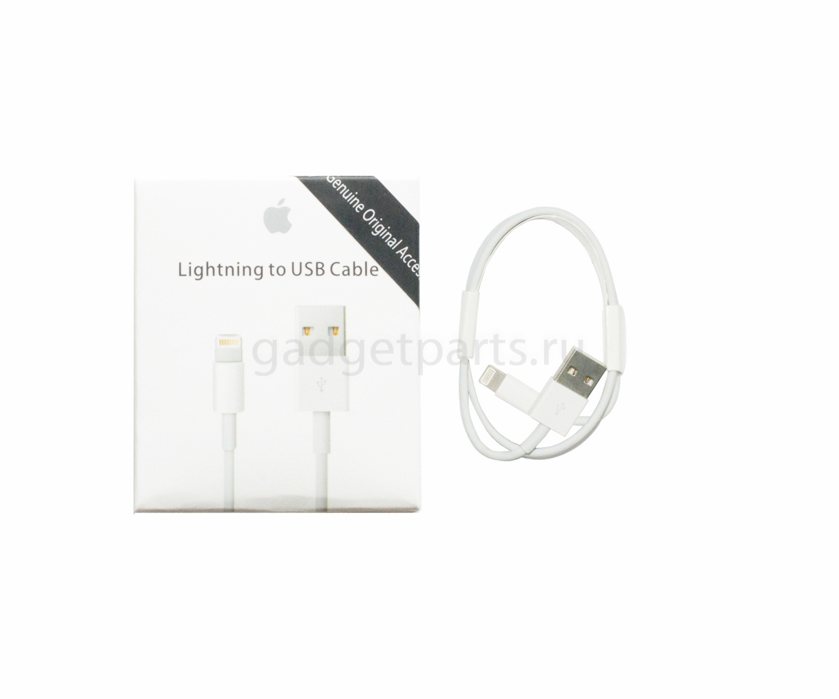USB кабель, сетевой шнур Lightning iPhone 5, 5C, 5S, 6, 6 Plus, 6S, 6S Plus, iPad и iPod MD818FE/A