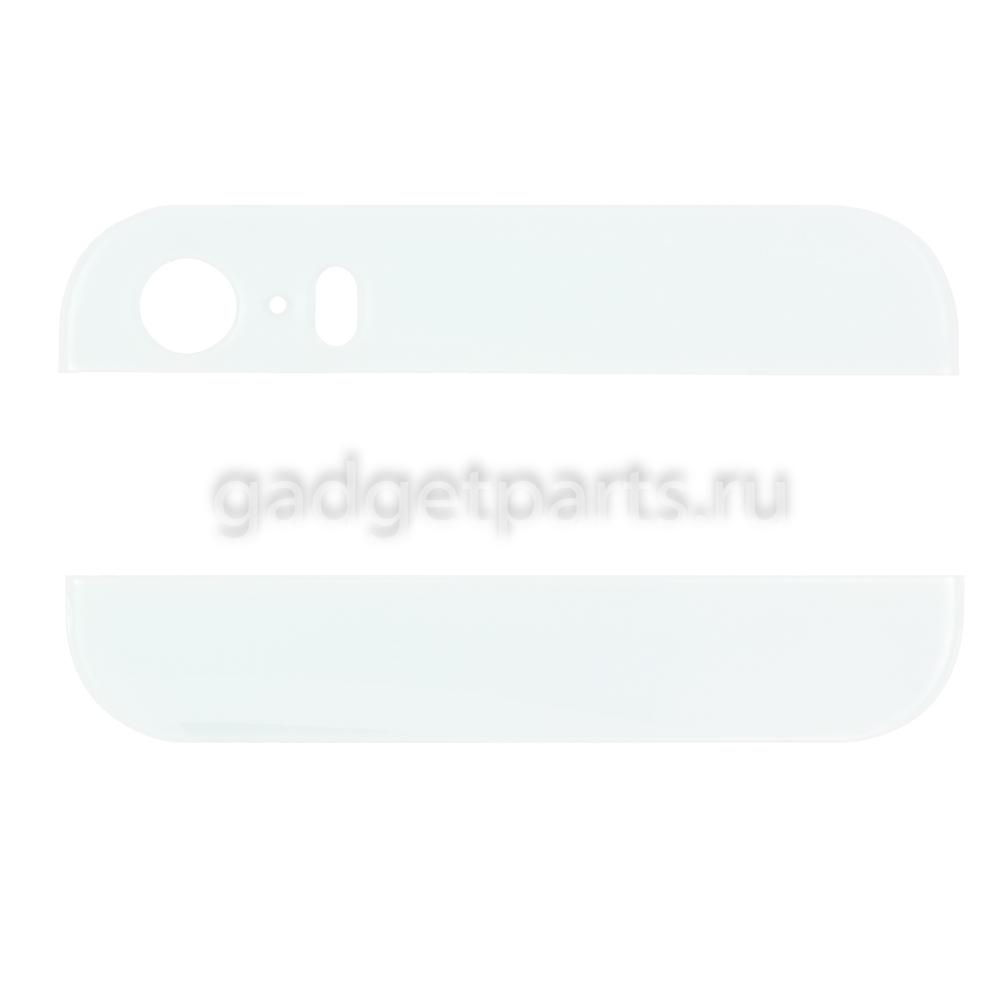 Стекла для задней крышки iPhone 5S Белые (White)