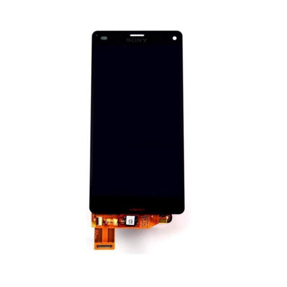 Модуль (дисплей, тачскрин, рамка) Sony Xperia Z3 Compact, D5803, D5833 Черный (Black)