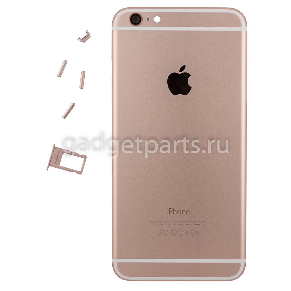 Задняя крышка iPhone 6 Plus Розовое золото (Rose gold)