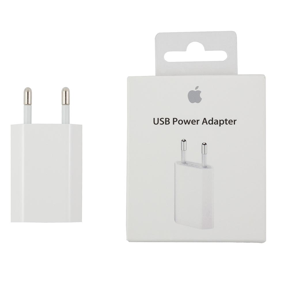 Блок зарядки iPhone 4, 4S, 5, 5S, 6, 6S, 6 Plus, 6S, 6S Plus, 7, 7 Plus, iPad и iPod, MD813ZM/A