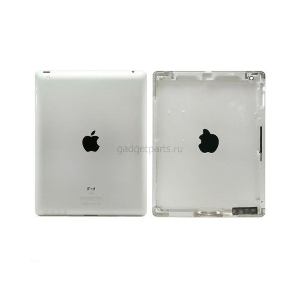 Задняя крышка iPad 2 Wi-Fi Серебряная, Белая (Silver, White)