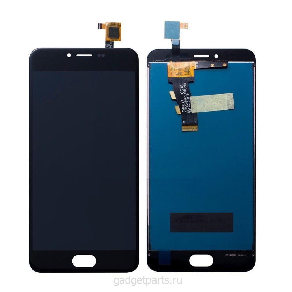 Модуль (дисплей, тачскрин) Meizu M3s Черный (Black) Оригинал