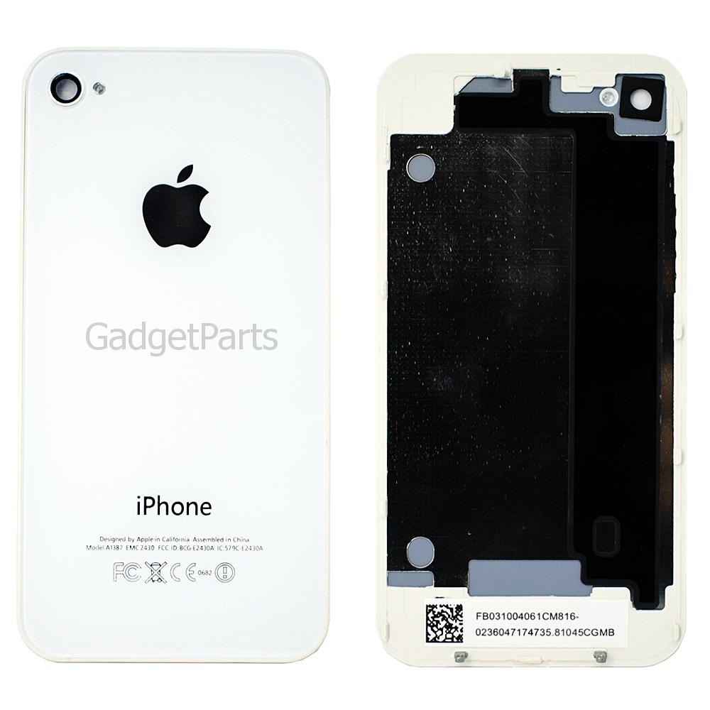 Задняя крышка iPhone 4 Белая (White) Оригинал