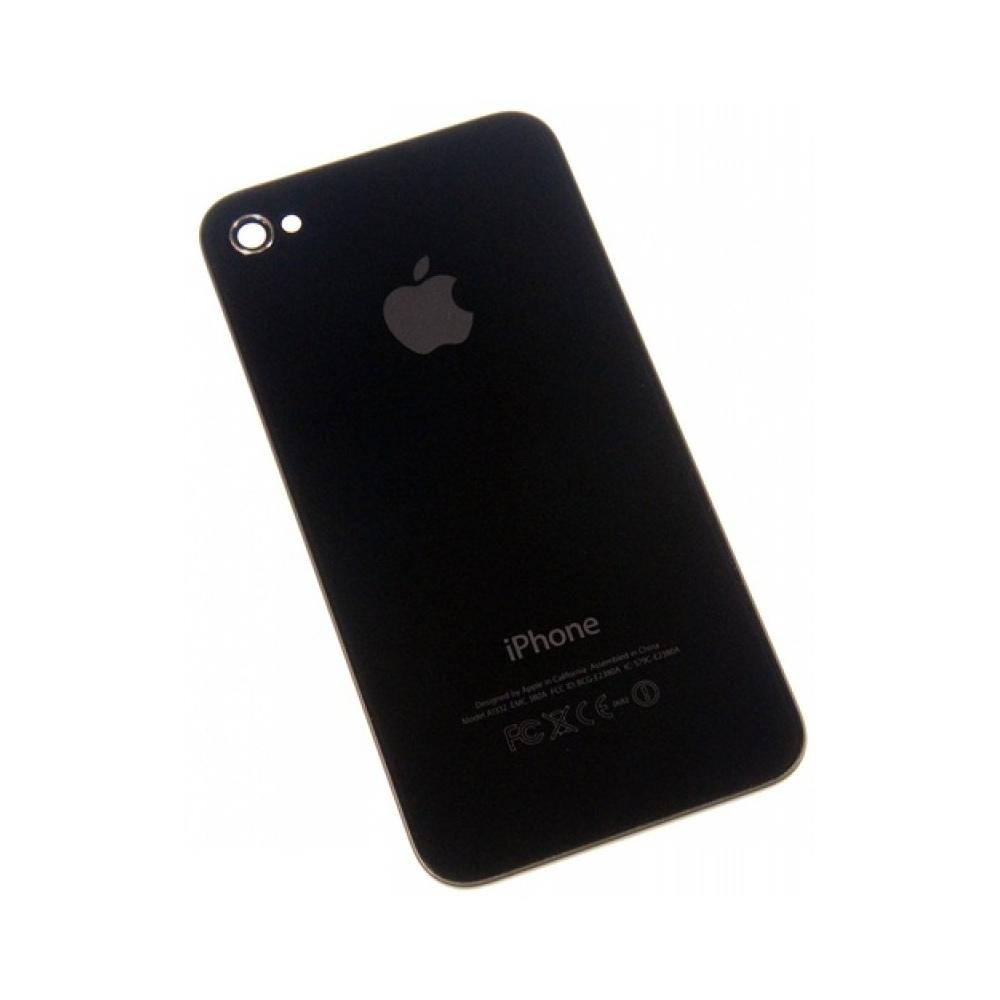 Задняя крышка iPhone 4S Черная (Black) Оригинал