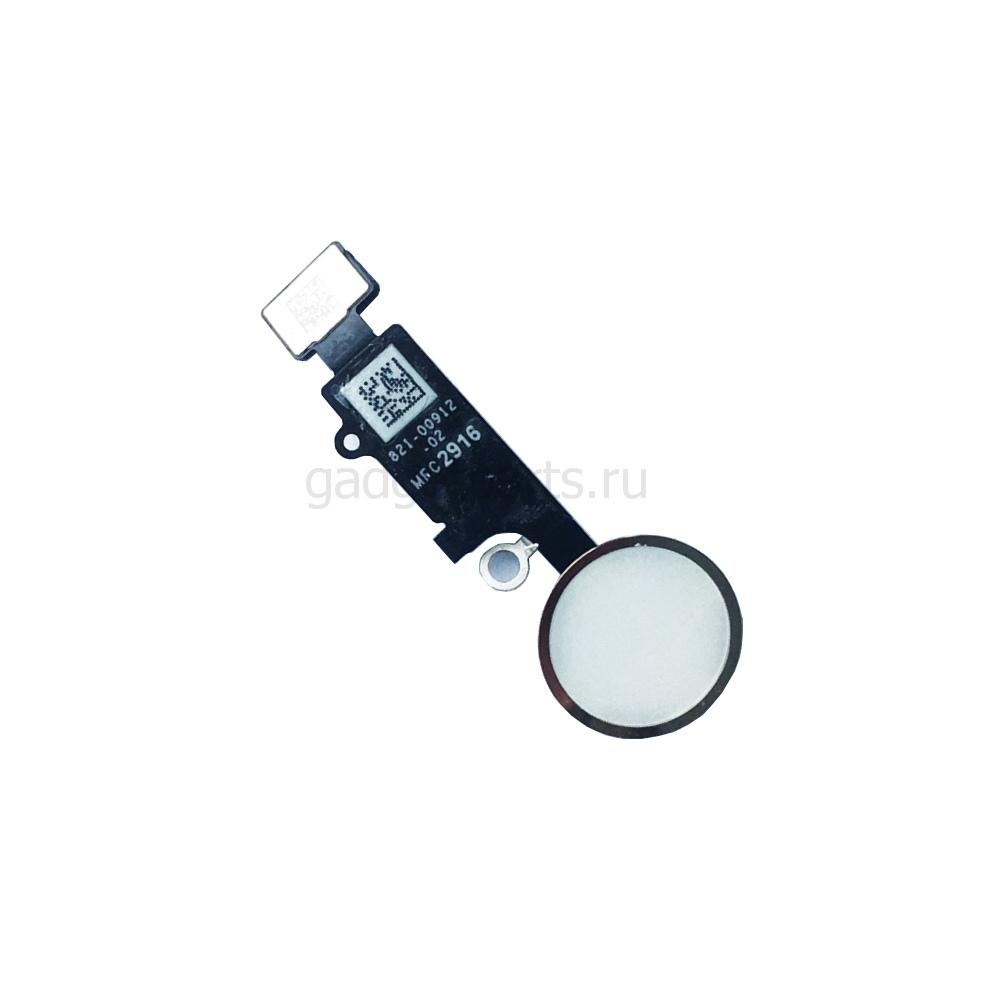Кнопка Hоme в сборе с шлейфом iPhone 7 Plus Белая (White) Оригинал