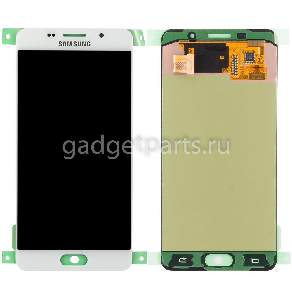 Модуль (дисплей, тачскрин, рамка) Samsung Galaxy A5, A510F Белый (White) Оригинал