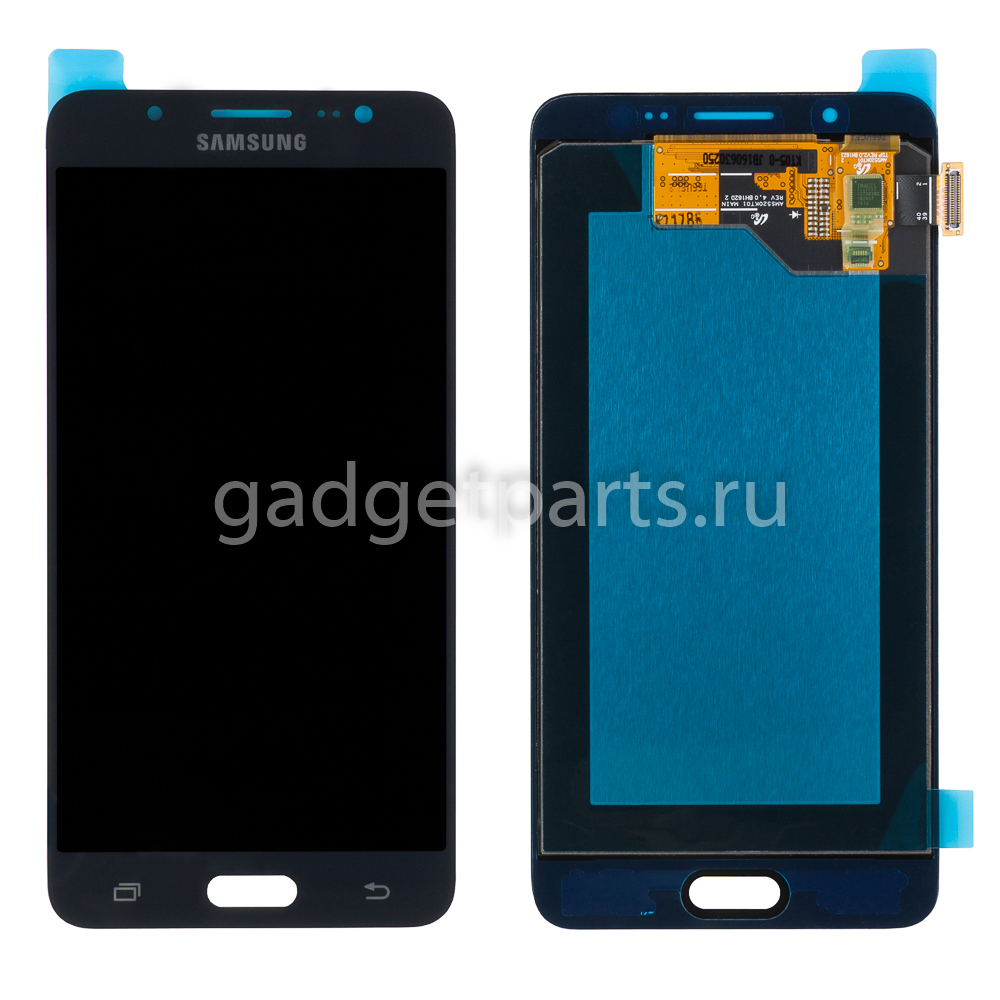 Модуль (дисплей, тачскрин, рамка) Samsung Galaxy J5, J510F Черный (Black) Оригинал