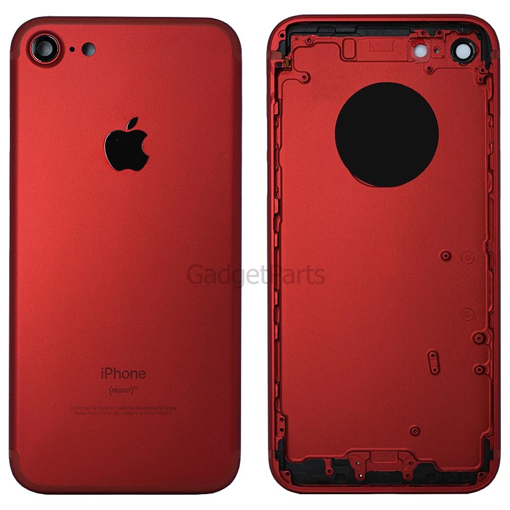 Задняя крышка iPhone 7 Красная (Red)