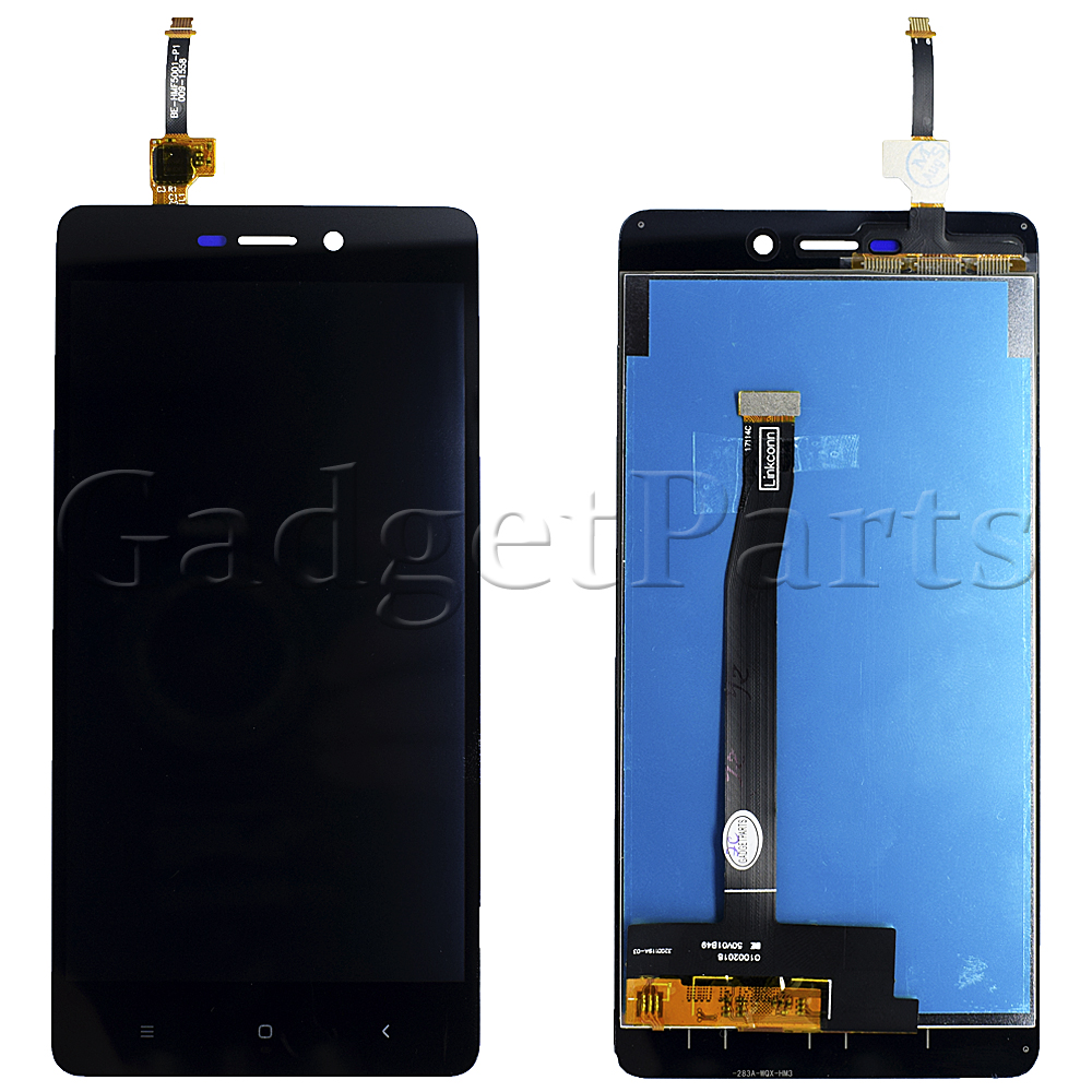 Модуль (дисплей, тачскрин) Xiaomi Redmi 3, 3s, 3 Pro, 3X Черный (Black) Оригинал
