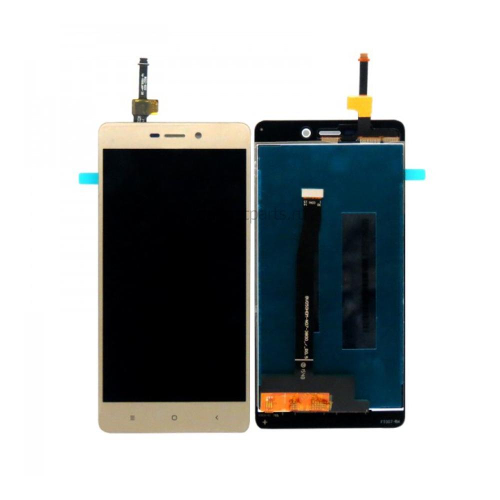 Модуль (дисплей, тачскрин) Xiaomi Redmi 3S Золотой (Gold) Оригинал