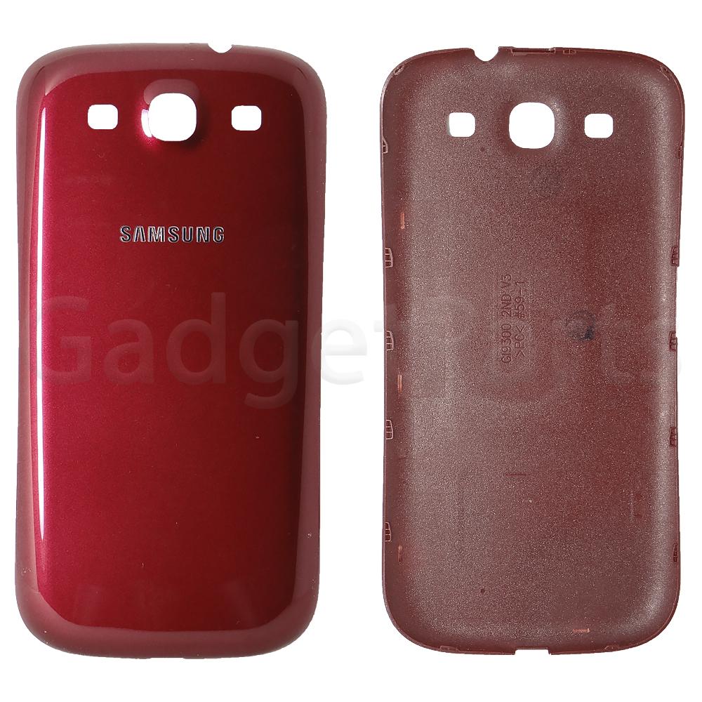 Задняя крышка Samsung Galaxy S3, i9300 Красная (Red)