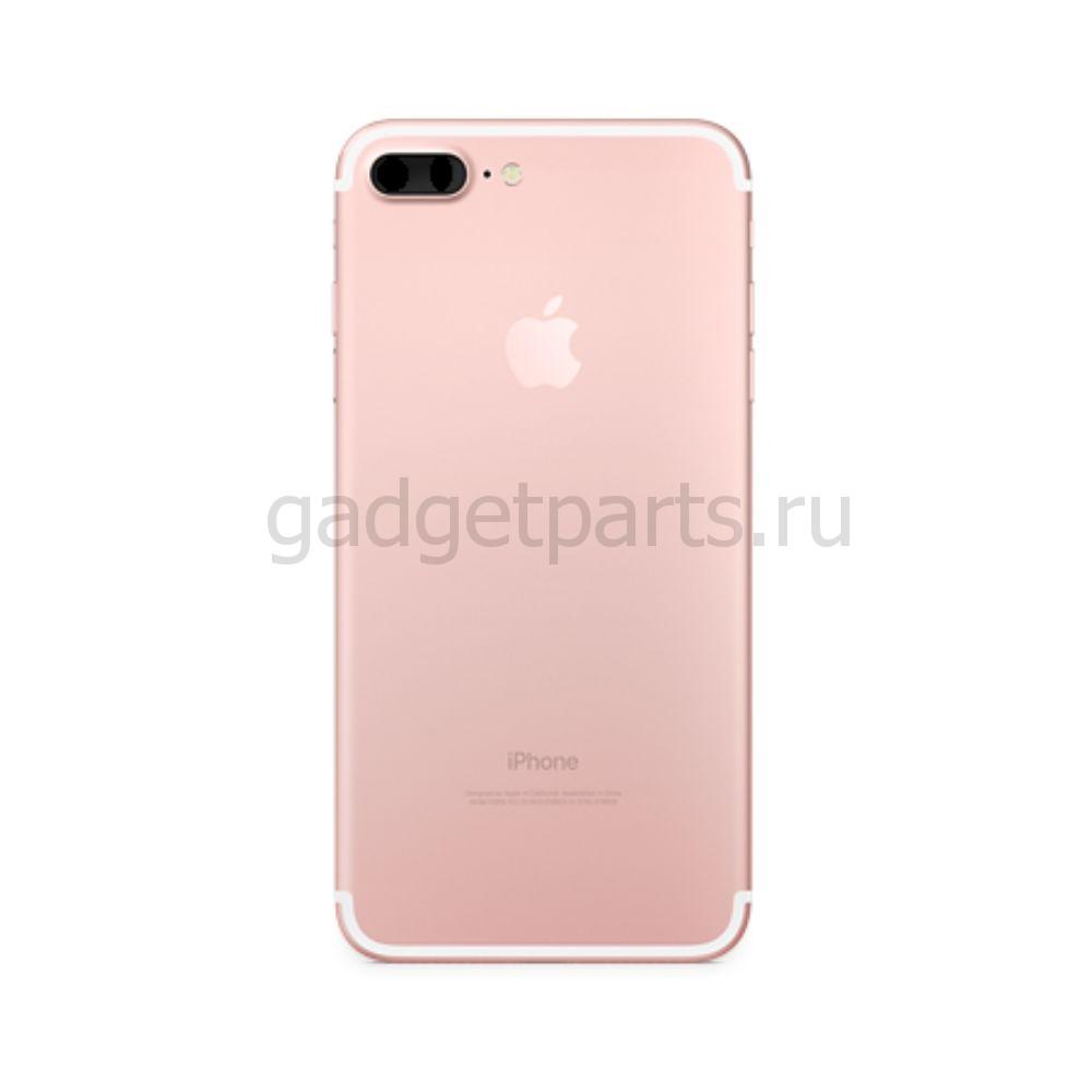 Задняя крышка iPhone 7 Plus Розовое золото (Rose gold) Оригинал