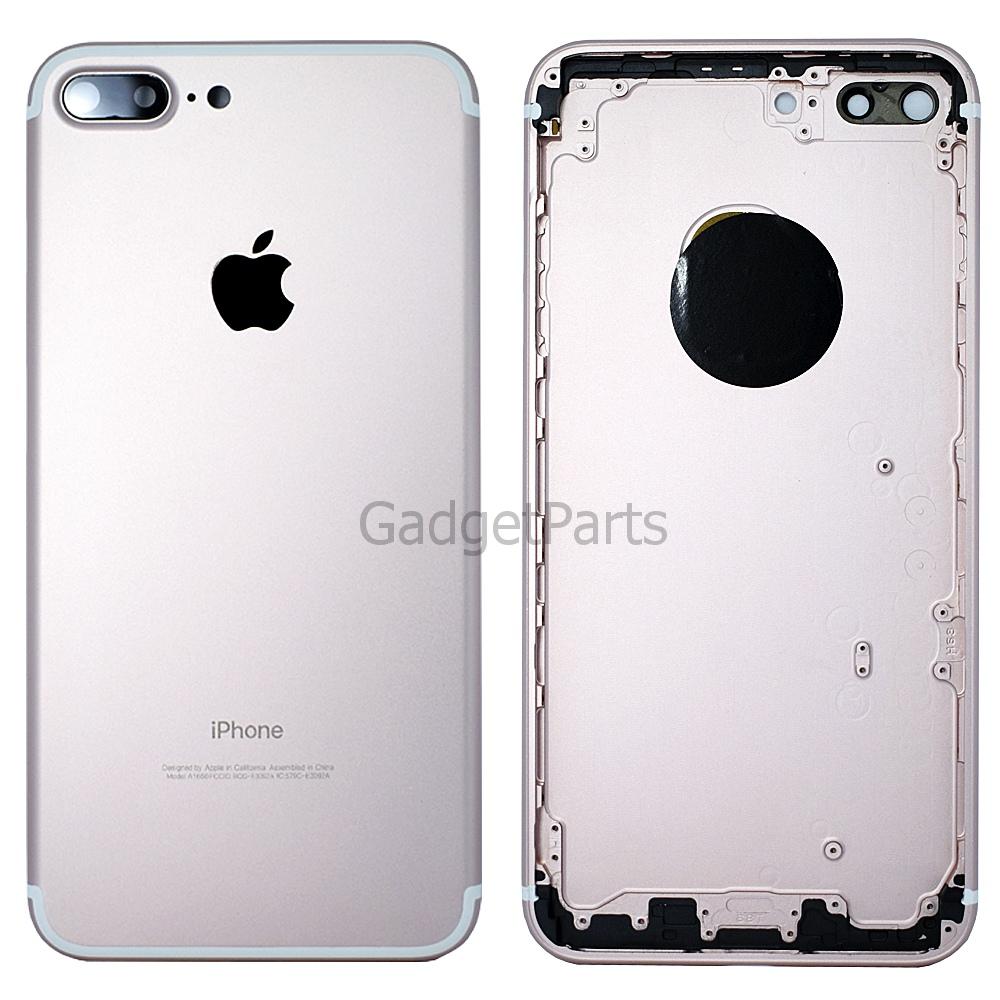 Задняя крышка iPhone 7 Plus Розовое золото (Rose gold)