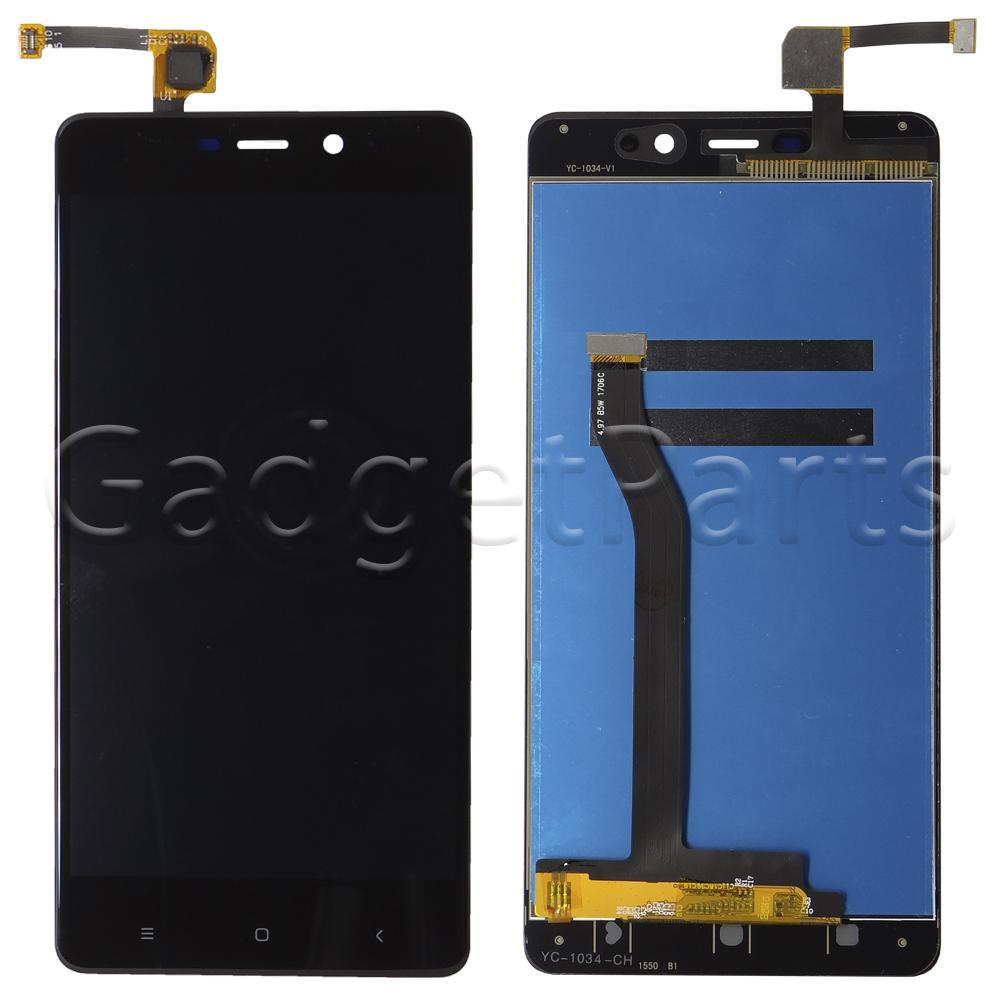 Модуль (дисплей, тачскрин) Xiaomi Redmi 4 Pro Черный (Black) Оригинал