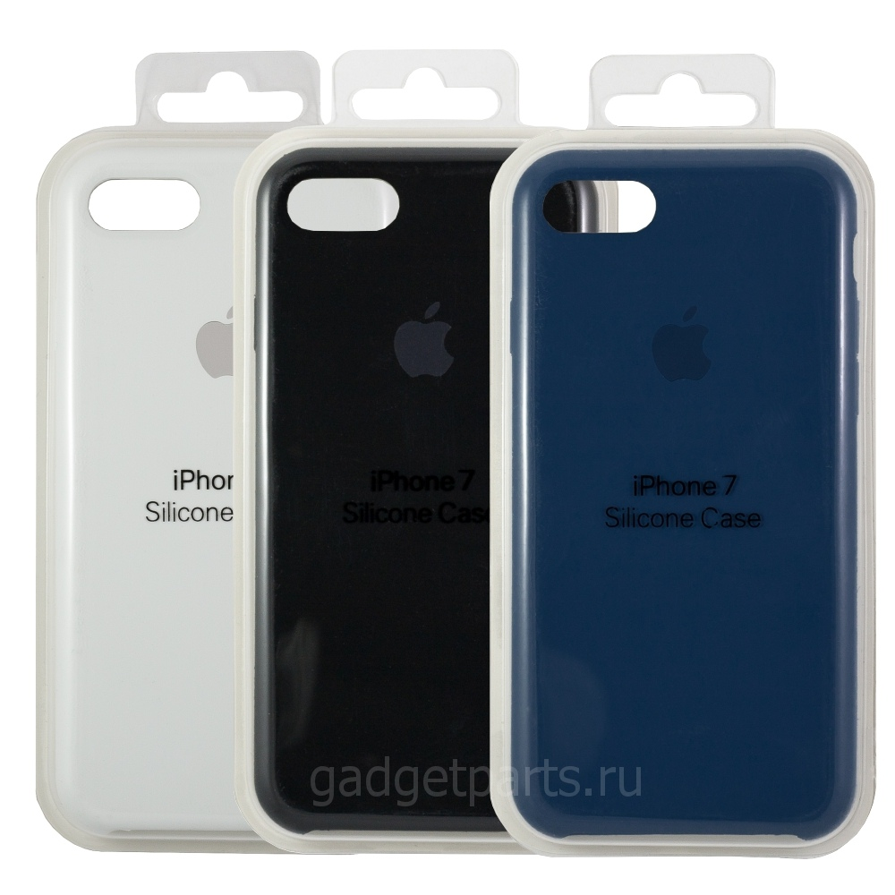 Чехол iPhone 7, 8 Silicon Case Оригинал