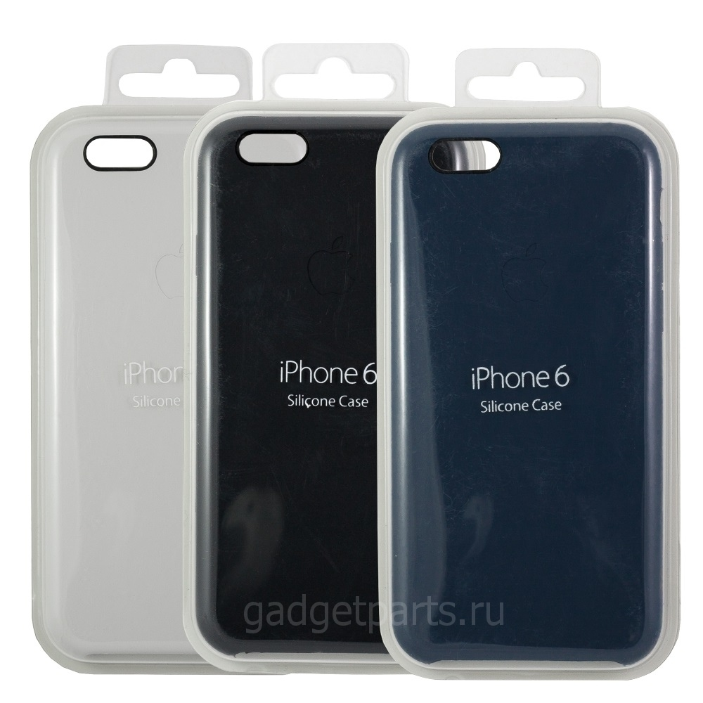 Чехол iPhone 6, 6S Silicon Case Оригинал