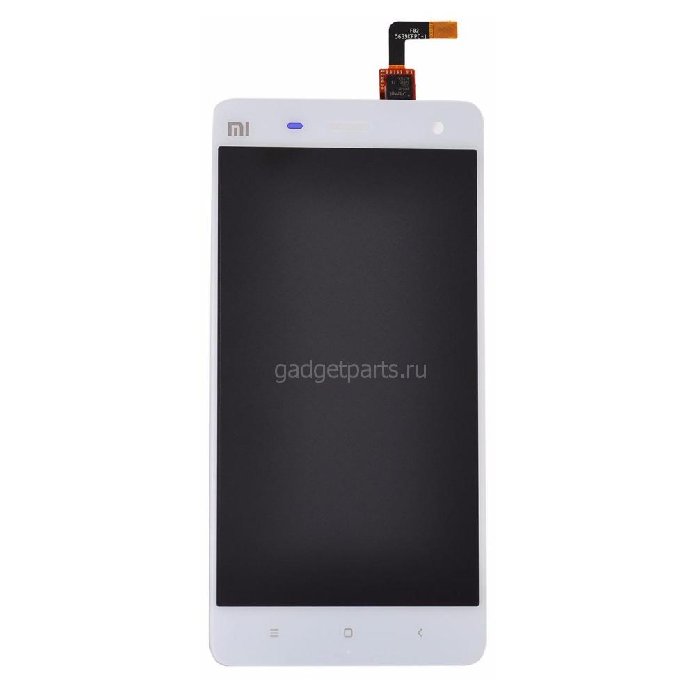 Модуль (дисплей, тачскрин) Xiaomi Mi 4 Белый (White)