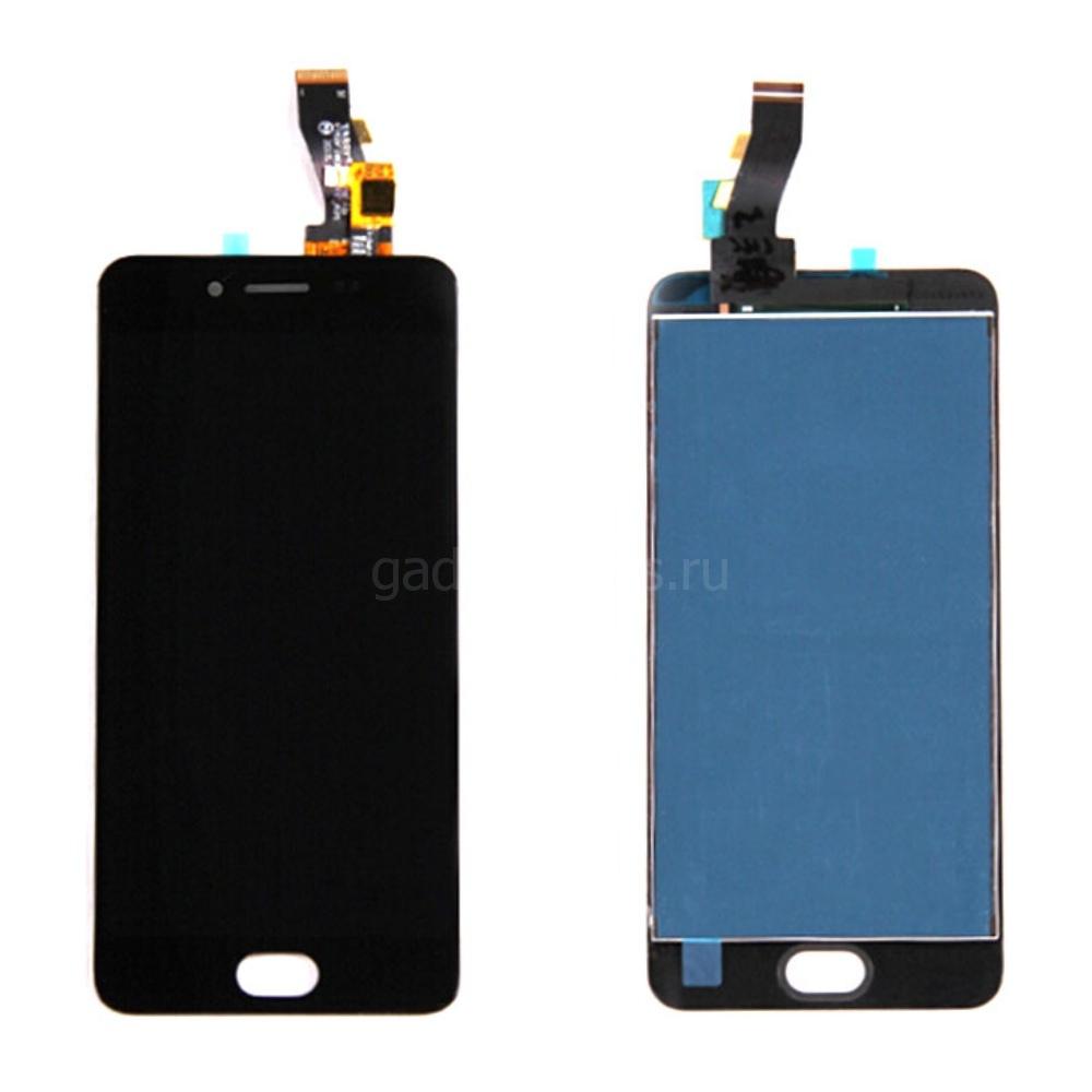Модуль (дисплей, тачскрин) Meizu M3s mini Черный (Black)