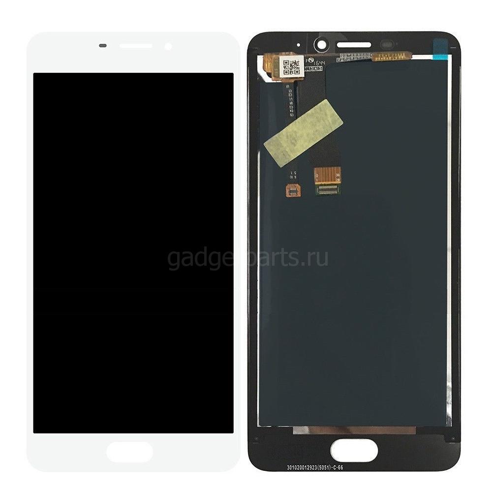 Модуль (дисплей, тачскрин) Meizu M5, M5 mini Белый (White)